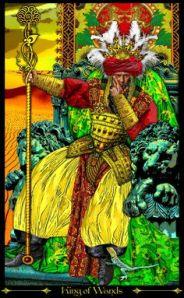 iluminati King of Wands