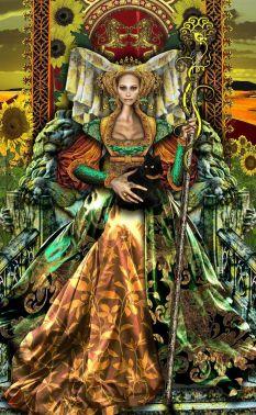 iluminati Queen of Wands