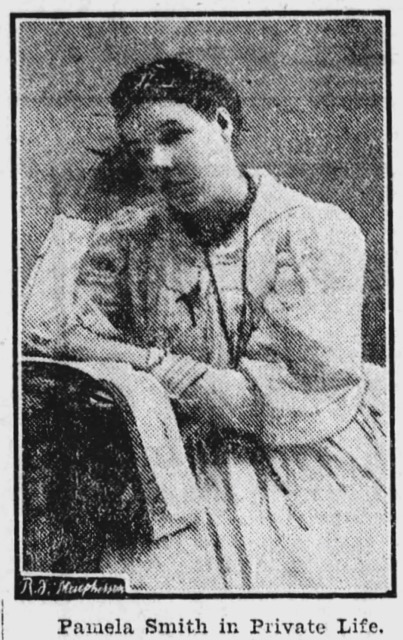 Pamela Smith in Private Live 1904