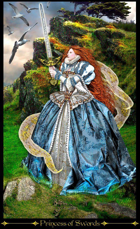 Princess of Swords – Inquisitive & Communicative Mind